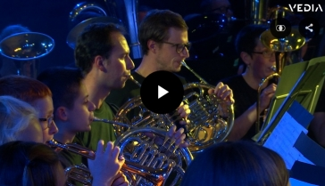 """[Vedia] Une somptueuse """"Night of Music"""" pour les 30 ans du Play-In à Waimes"""